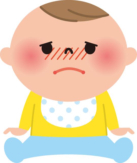 症状の流れとしては、「軽い発熱 → 嘔吐 → 下痢」となるケースがほとんどです。