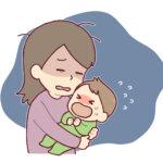 赤ちゃんの夜泣きの原因や期間は?放置する効果や影響について