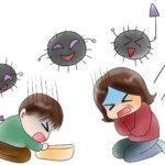 嘔吐下痢症は潜伏期間にうつる?感染経路や出席停止の期間についても