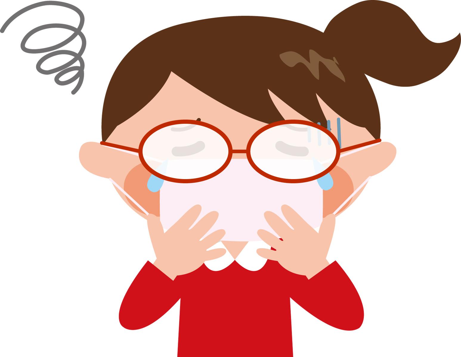 マスクをしている時に眼鏡が曇らないよう防止する方法や裏技 らいふのーと