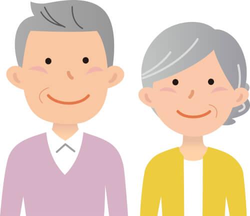 七五三の祖父母