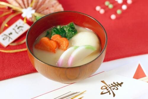 関西地域のお雑煮