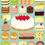 ケーキの種類一覧!名前の意味や由来についても紹介