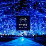 青の洞窟渋谷の行き方や駐車場は?点灯時間や期間も紹介