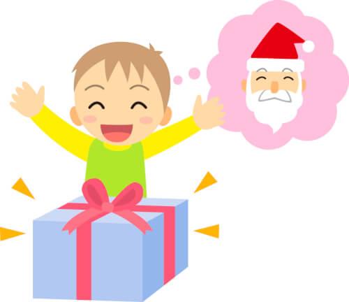 サンタクロースのプレゼント
