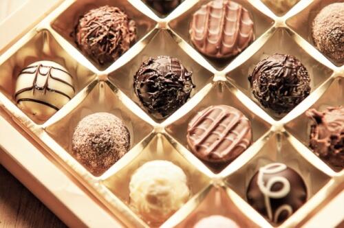 市販のチョコレート