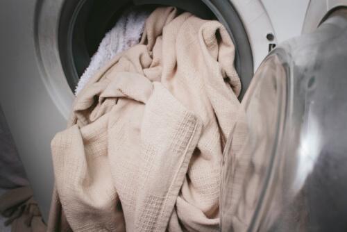 溜まる洗濯物