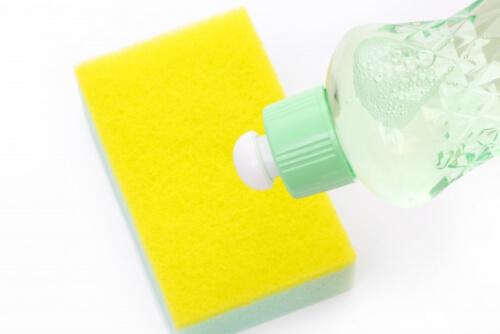 スポンジや洗剤