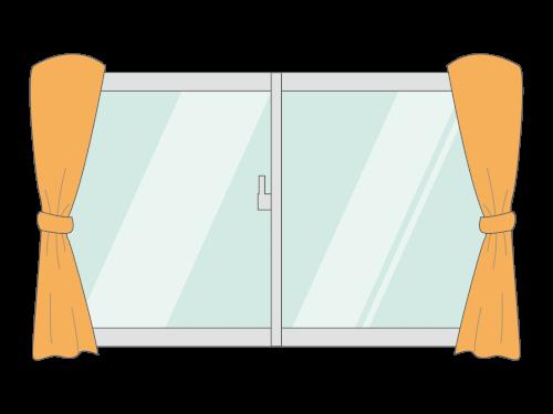 窓を閉める