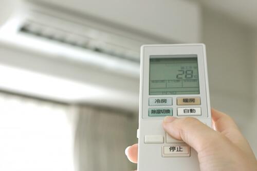 エアコンの設定
