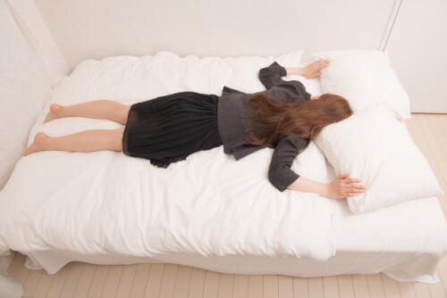うつぶせ寝